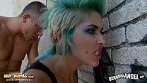 Screenshot Tattooed Punk Chick Gets Fucked Outdoors