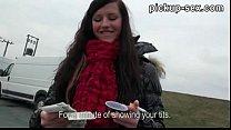 Eurobabe Morgan Blanchett pounded hard in exchange for cash thumbnail