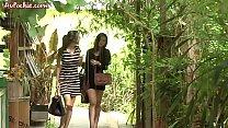 หนังโป๊ไทยสาวชุดแดงมาเทียวบ้านเพื่อนหนุ่มแล้วโดนพาไปเสียวกับน้ำว่าว