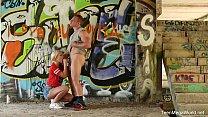 X-Angels.com - Lovita Fate - Sticky sperm paint on hot body Thumbnail