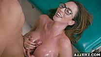 10321 Horny Dr Ariella Ferrera examines a gaint cock preview