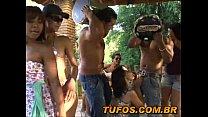 Brasileiras gostosas no pagode da putaria!