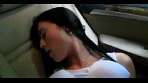 Novinha transando no carro