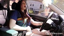 Hot Matilda Masturbating While Driving pornhub video