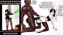 Черный транссексуал с длинным хуем порно