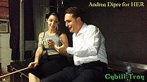 Mistress Cybill Troy squeezes Andrea Diprè's balls Vorschaubild