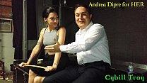 11127 Mistress Cybill Troy squeezes Andrea Diprè's balls preview