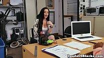 Amateur casting chick rides bbc like a pro