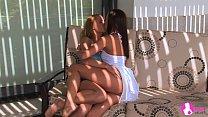 Lesbian sex in the shadows - Viv Thomas HD