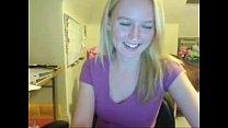 blonde amateur webcam teenie