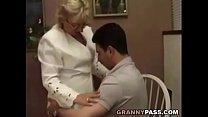 Granny Teacher Flirts With Her Student thumbnail
