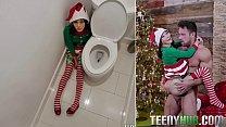 Jasmine Grey In Elf On A Shelf's Thumb
