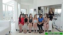 Reena Skye Testing Ladies Through Orgy