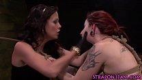 Shibari slave slapping porn thumbnail