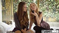 TUSHY Babes Cassidy Klein and Aubrey Star Do Anal thumbnail