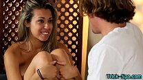 Teen Hottie Massages Clit
