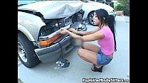 Cody Lane wrecks boss's car thumb