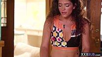 (videosgratistv) Hot big boobs lesbians massage and hard finger fucking thumbnail