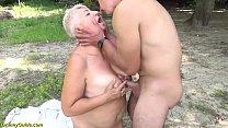 big ass chubby mom outdoor fucked by her toyboy Vorschaubild
