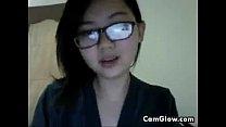 Sweet Asian Cam Girl Gets Naked