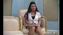 Seductive maid desires deep penetration's Thumb