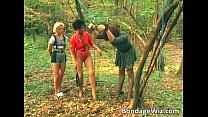 Some guy is tied up in the woods Vorschaubild