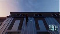 Homem safado soltando sua teia na cidade pornhub video
