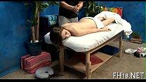 In nature's garb oil massage