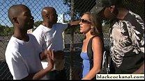 Black cock worshipping slut