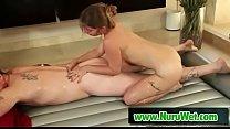 Amazing Nuru Massage  And Slippery Massage - Dick Chibbles & Bunny Freedom Thumbnail