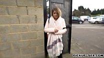 Eurobabe Bella Scaris banged in public