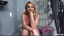 PublicPickUps - Skyla Novea Bikini Blde Flashes for Cash - 9Club.Top