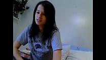 504344 - Natasha Chats And Strips Topless