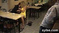 Видео женщины в общественной бане