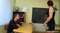 Русская зрелоя училка в порно