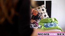 MILF Julia Ann Threeway With Step-Son & Teen Creampie thumbnail