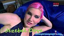 Jezebel Dove: Hilfe ich muss Sperma schlucken! ...