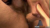 Gay studs ass toyed hard