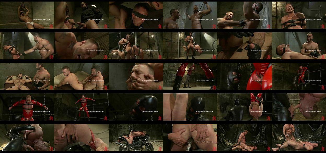 Drooling Prisoner Is Flogged