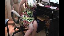 Pretty blonde farts in dress thumbnail