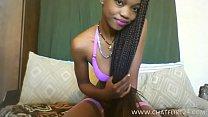 skinny african teen webcam