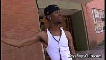 Blacks On Boys -Gay Bareback Interracial Fuck Movie 27