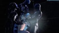 Screenshot 3d bIG Ass Slut  Fucked By Monster ter