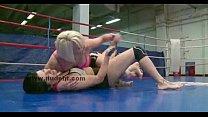 Лесбиянки в ринге видео