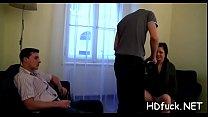 Horny babe with pink wet crack enjoys hardcore shagging session porn image
