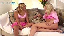 Sindy Lange & Her Girlfriend Swap Some Cum video