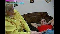 momlick Mom and sun fucked on the sofa