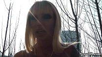 Geile Deutsche MILF mit Mega Titten Outdoor gefickt Vorschaubild
