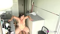 Mature chubby Spanish MILF wants to fuck her friends' son صورة