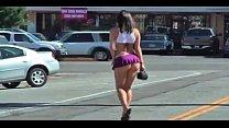 MOTHER EARTH  WALKS ON STREET